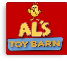 Als Toy Barn Canvas Print