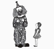 Mr. Teeth, The Smiling Clown Kids Tee