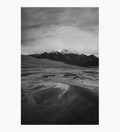 Mountains, Sand, and Water Photographic Print