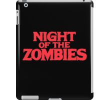 Night of the zombies! iPad Case/Skin