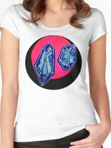blue quartz Women's Fitted Scoop T-Shirt
