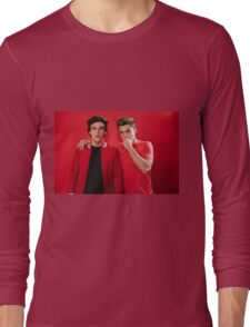 Dolan Twins red Long Sleeve T-Shirt