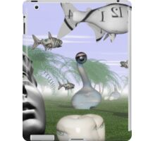 Corporate loan sharks encircling family dream  iPad Case/Skin