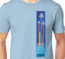 Intergalactic Aerospace Expo 2946 (Vertical) Unisex T-Shirt