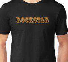 Rockstar (Orange) Unisex T-Shirt