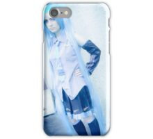 Hatsune miku cosplay iPhone Case/Skin