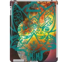 worlds collide iPad Case/Skin