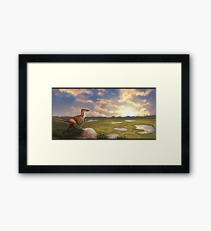Early Cretaceous  Framed Print