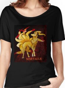 NineTails Women's Relaxed Fit T-Shirt