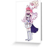 nonon satsuki Greeting Card