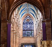 Inside St Giles, Edinburgh by Christine Smith