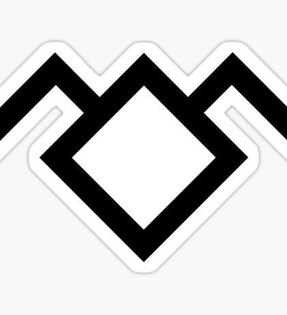 Twin Peaks Owl Cave Symbol Sticker