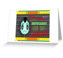 Bad News Greeting Card