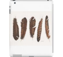 Pheasant roadkill iPad Case/Skin