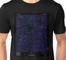 USGS TOPO Map Arkansas AR Spring Lake 259658 1987 24000 Inverted Unisex T-Shirt