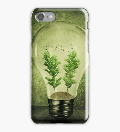 Eco Bulb iPhone Case/Skin