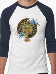 Multicultural Golden buddha Men's Baseball ¾ T-Shirt