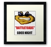 hilarious laughing colours battletoads parody Framed Print