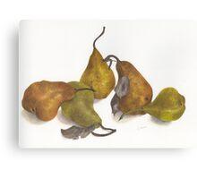 Pear quintet Canvas Print