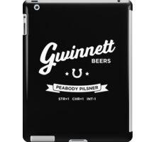 Gwinnett Beers Peabody Pilsner iPad Case/Skin