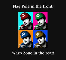 SexyMario MEME - Flag Pole In The Front, Warp Zone In The Rear! Unisex T-Shirt