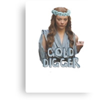 Gold Digger Tyrell Canvas Print