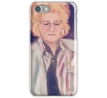 Boomer Woman Portrait iPhone Case/Skin