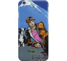 Jotaro and Iggy iPhone Case/Skin