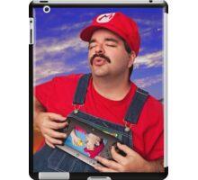 SexyMario - Playing the WiiU iPad Case/Skin