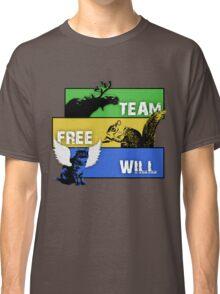 Supernatural - Team Free Will - Animals Classic T-Shirt