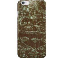 Green Glass Retro iPhone Case/Skin