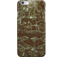 Green Glass Retro iPhone Case/Skin