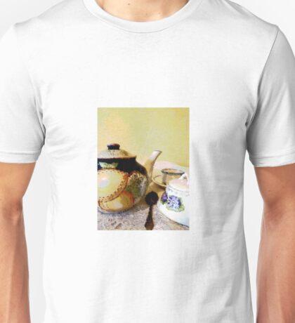 Tea with Grandma Unisex T-Shirt