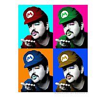 SexyMario - Warhol Homage Photographic Print