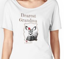 Deer Grandma - I love my dear family Women's Relaxed Fit T-Shirt