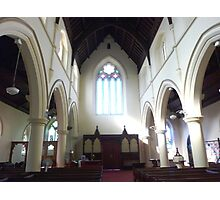 Windows - Holy Trinity Church  - Williamstown, Vic. Photographic Print