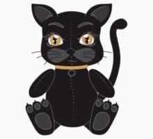Lucky the Black Cat T-Shirt