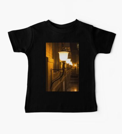 Perspective Study - Elegant Glass Brass and Iron Wall Sconces Right Baby Tee