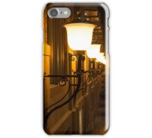 Perspective Study - Elegant Glass Brass and Iron Wall Sconces Right iPhone Case/Skin