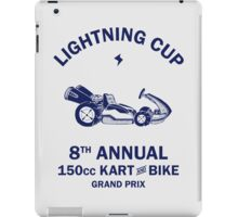 Lightning Cup Kart & Bike Grand Prix iPad Case/Skin