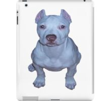 little white puppy pit iPad Case/Skin