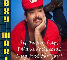 SexyMario - Sit on my lap, i have a special 1-up for you! by SexyMario