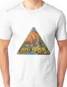 Big Rock Candy Mountain Luggage Label Unisex T-Shirt