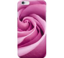 Pink Rose Folded To Perfection iPhone Case/Skin