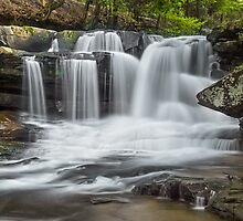 West Virginia's Dunloup Falls by Kenneth Keifer