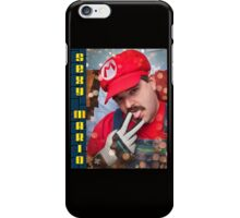 SexyMario - Powerglove fits just right iPhone Case/Skin
