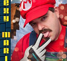 SexyMario - Powerglove fits just right by SexyMario