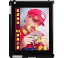 SexyMario - Blowing the Cartridge iPad Case/Skin