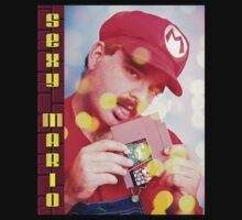 SexyMario - Blowing the Cartridge T-Shirt