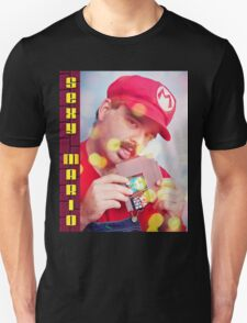 SexyMario - Blowing the Cartridge Unisex T-Shirt